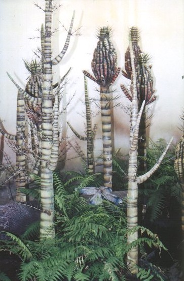 Swamp in the Carboniferous